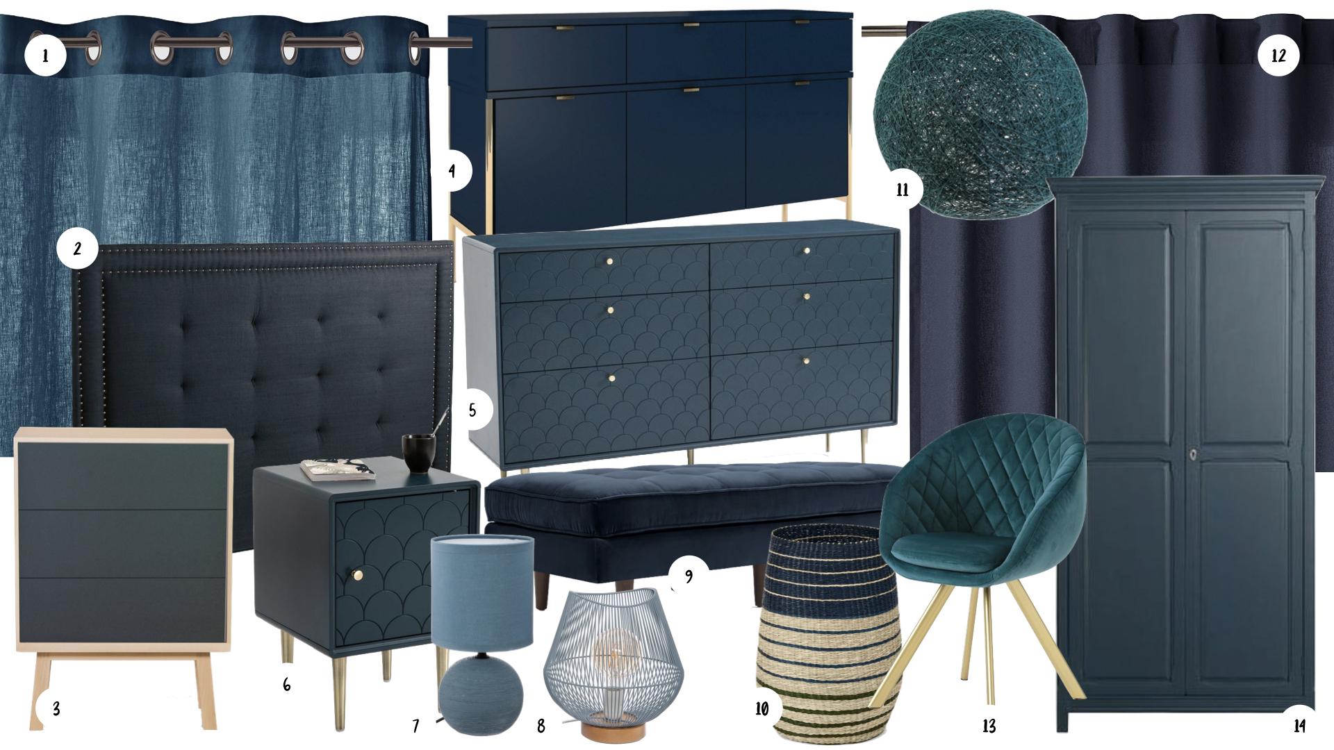 deco mobilier chambre bleu sombre.001