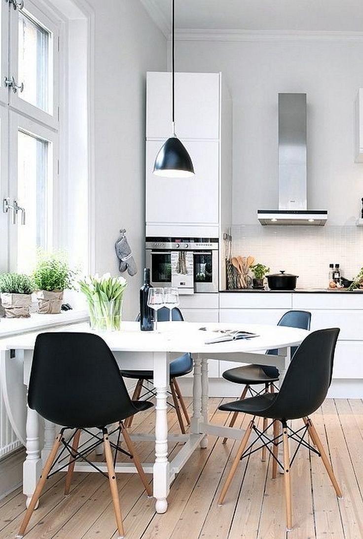 petite salle a manger espace scandinave deco