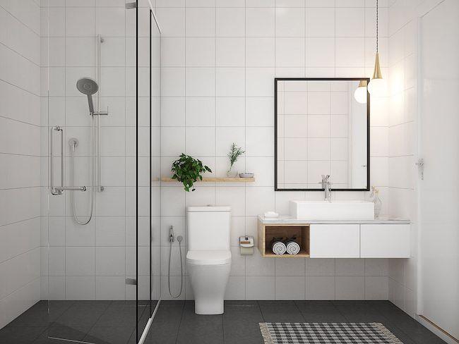 routine matin interieur minimaliste