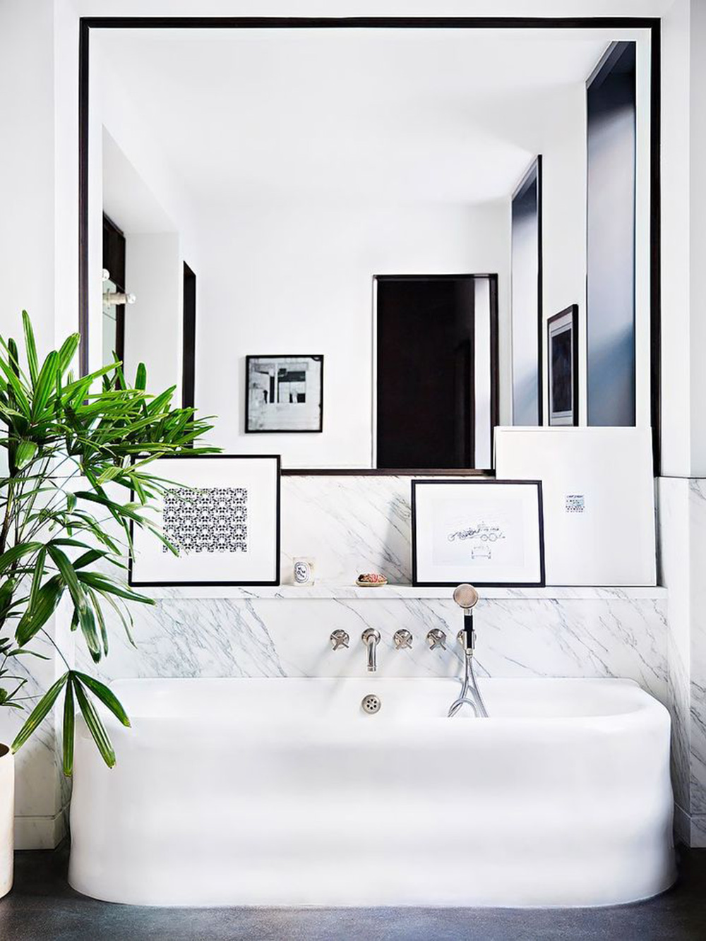 salle de bain classe deco minimaliste