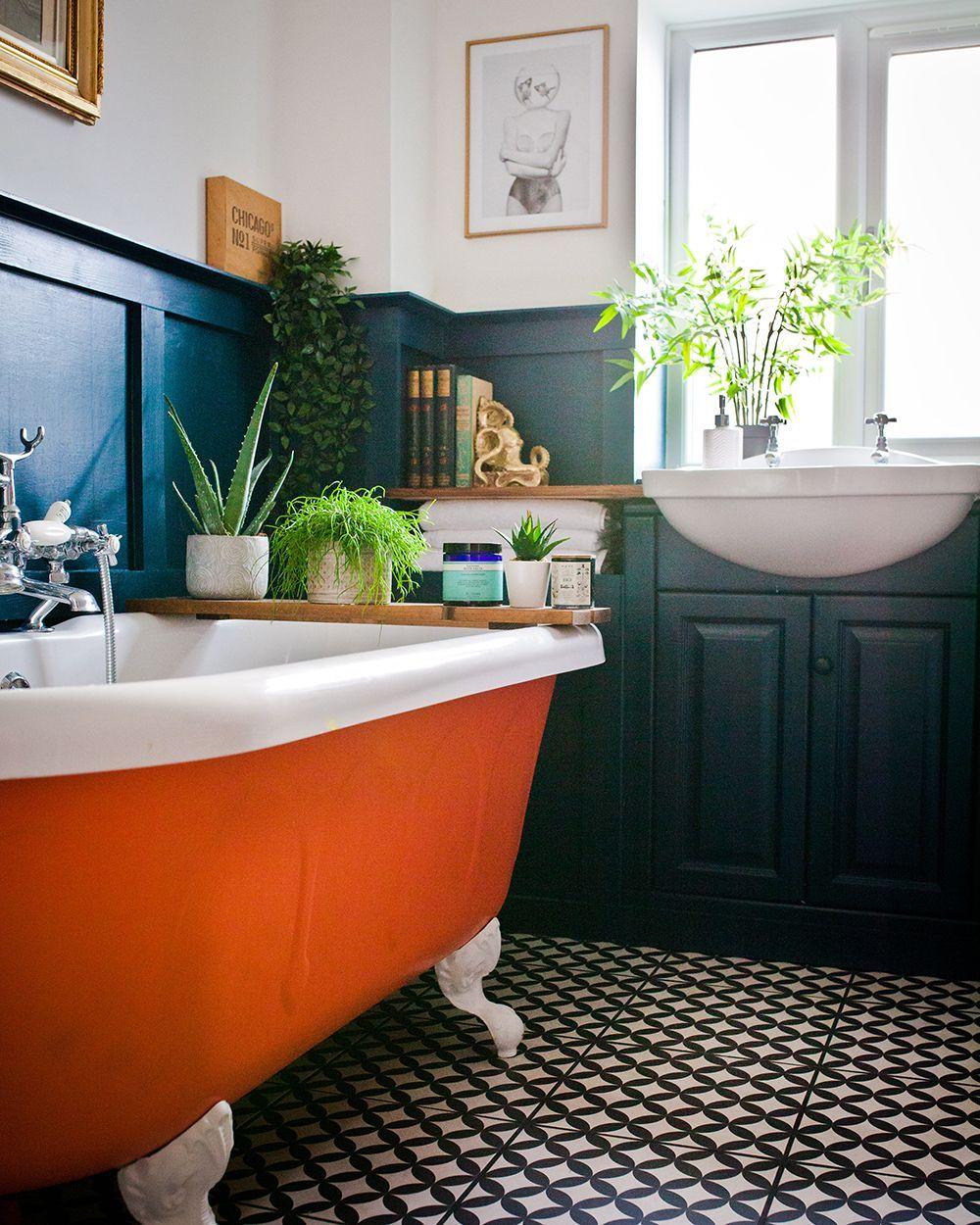 salle de bain familiale couleur