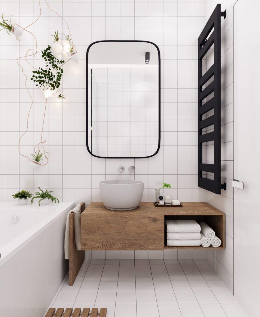 salle de bain minimaliste deco idee