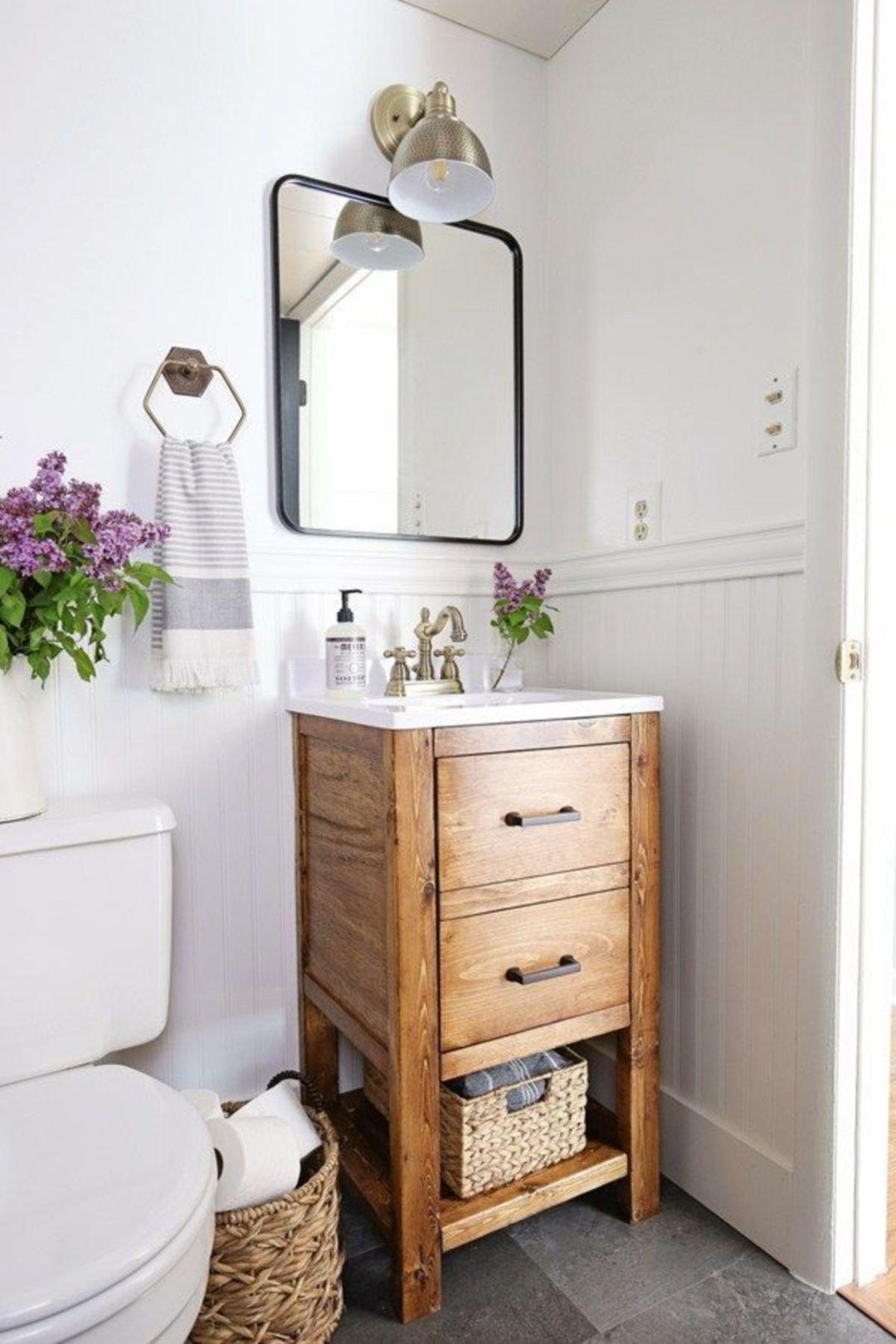 salle de bain minimaliste petit espace