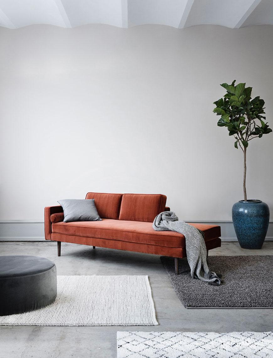 canape couleur minimalisme