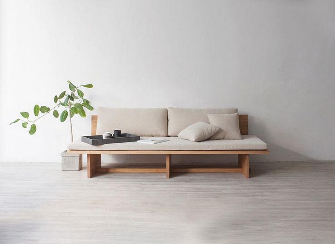canape japandi minimaliste