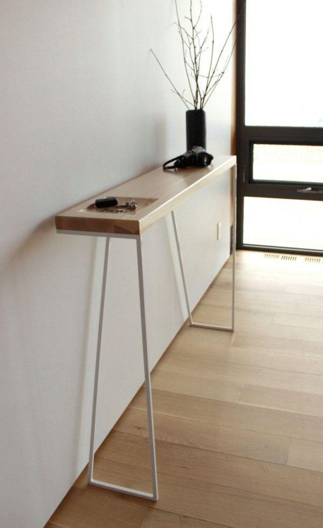 console entree decoration minimaliste fonctionnelle