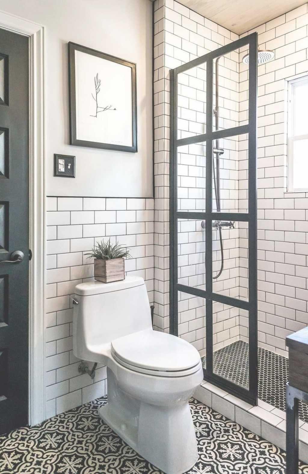 decoration toilette douche carreau de ciment