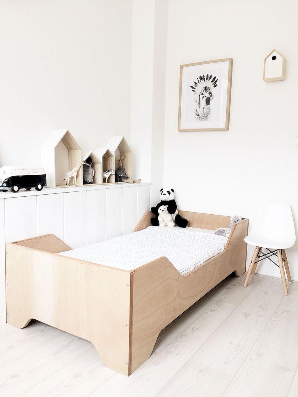 lit enfant minimaliste bois epure