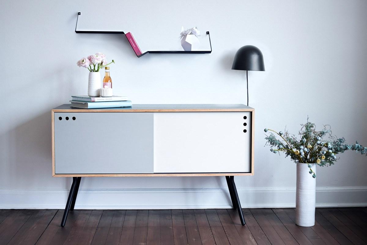 meuble nordique minimaliste