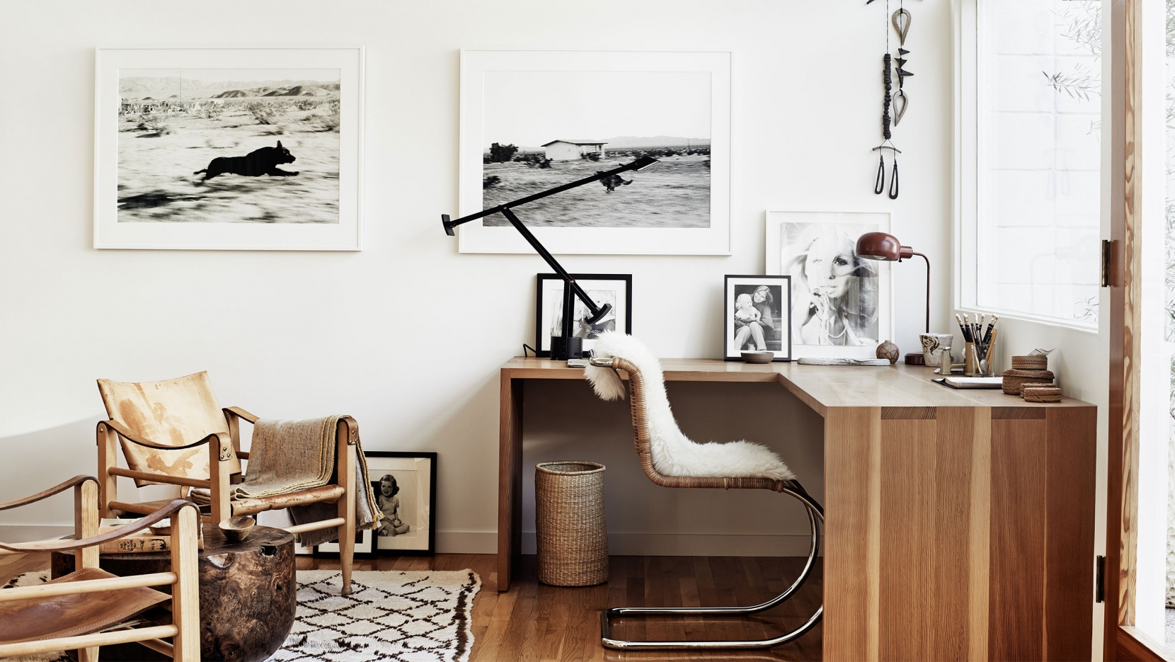 minimalisme bureau idee amenagement