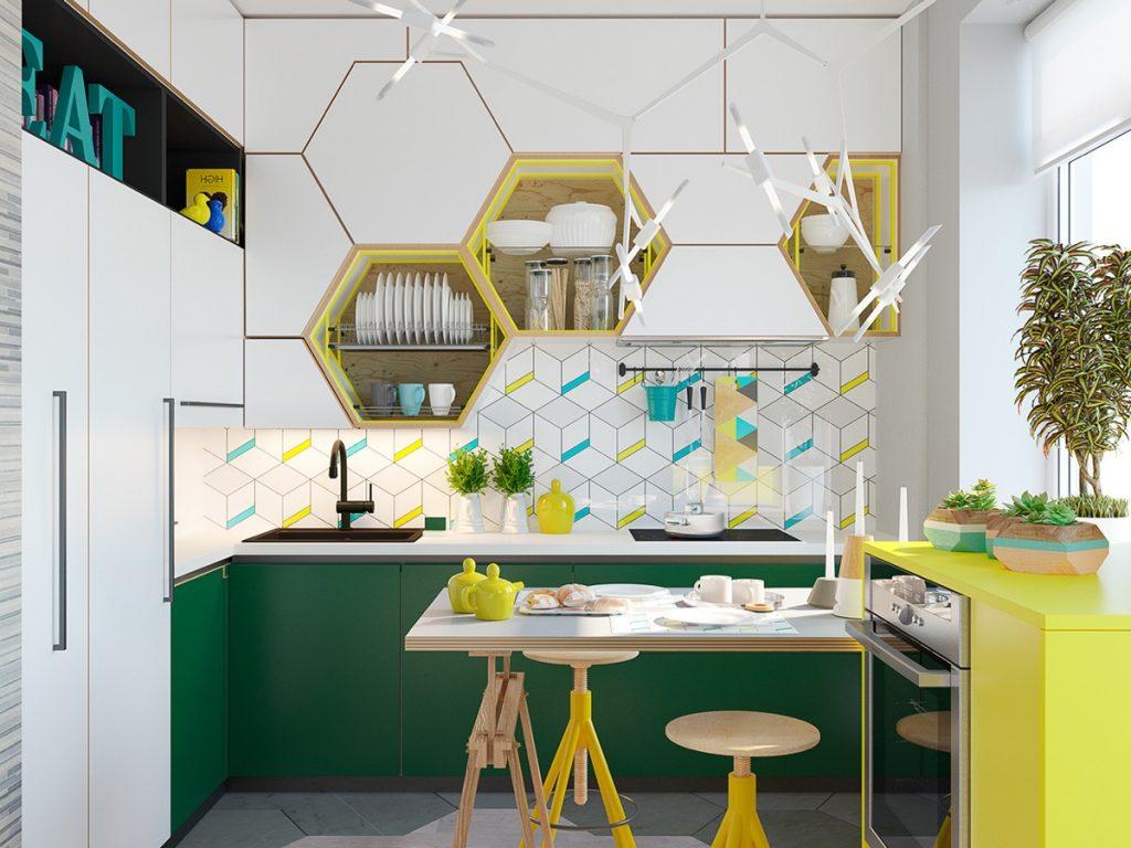 mobilier original cuisine moderne