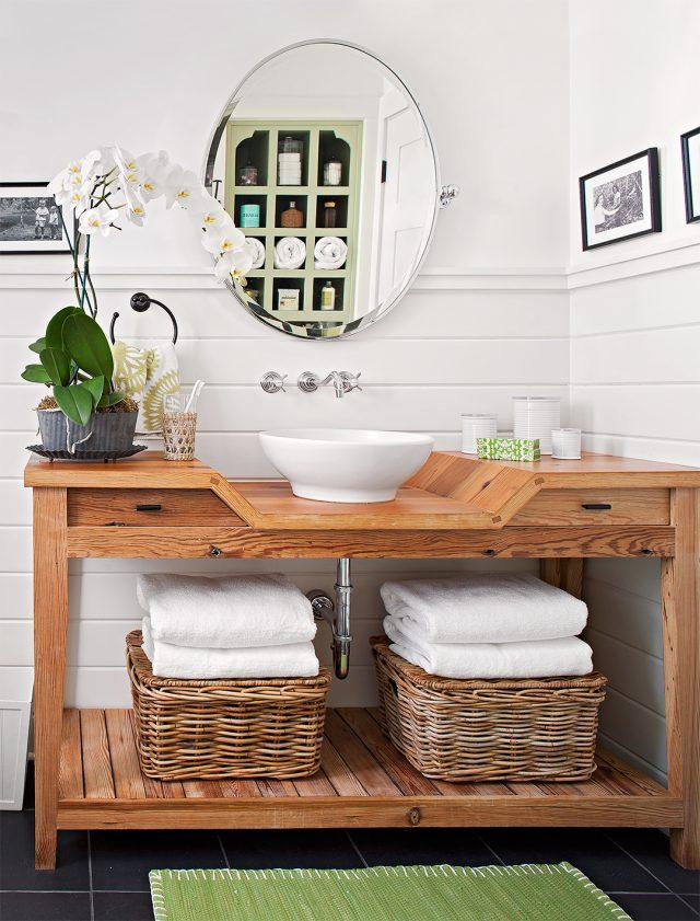 mobilier salle de bain amenagement