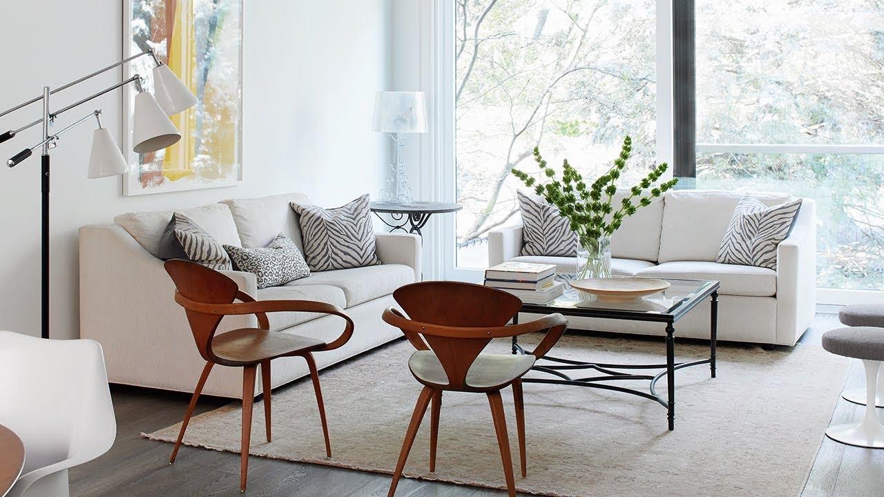 mobilier salon minimalisme fauteuil design