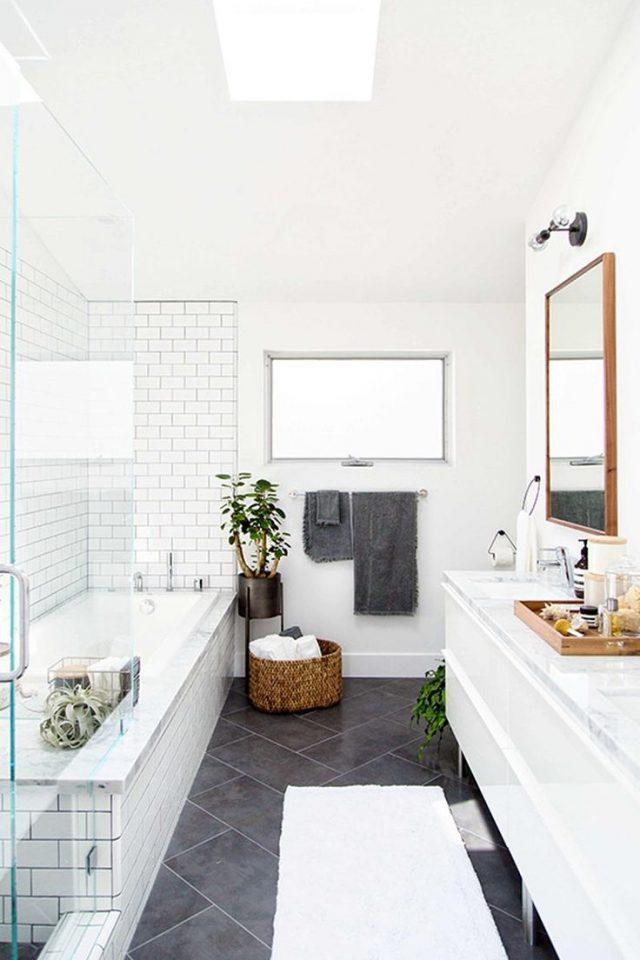 petite salle de bain amenagement idee