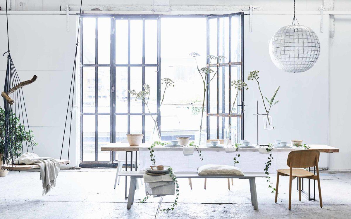 salle a manger decoration minimalisme famille