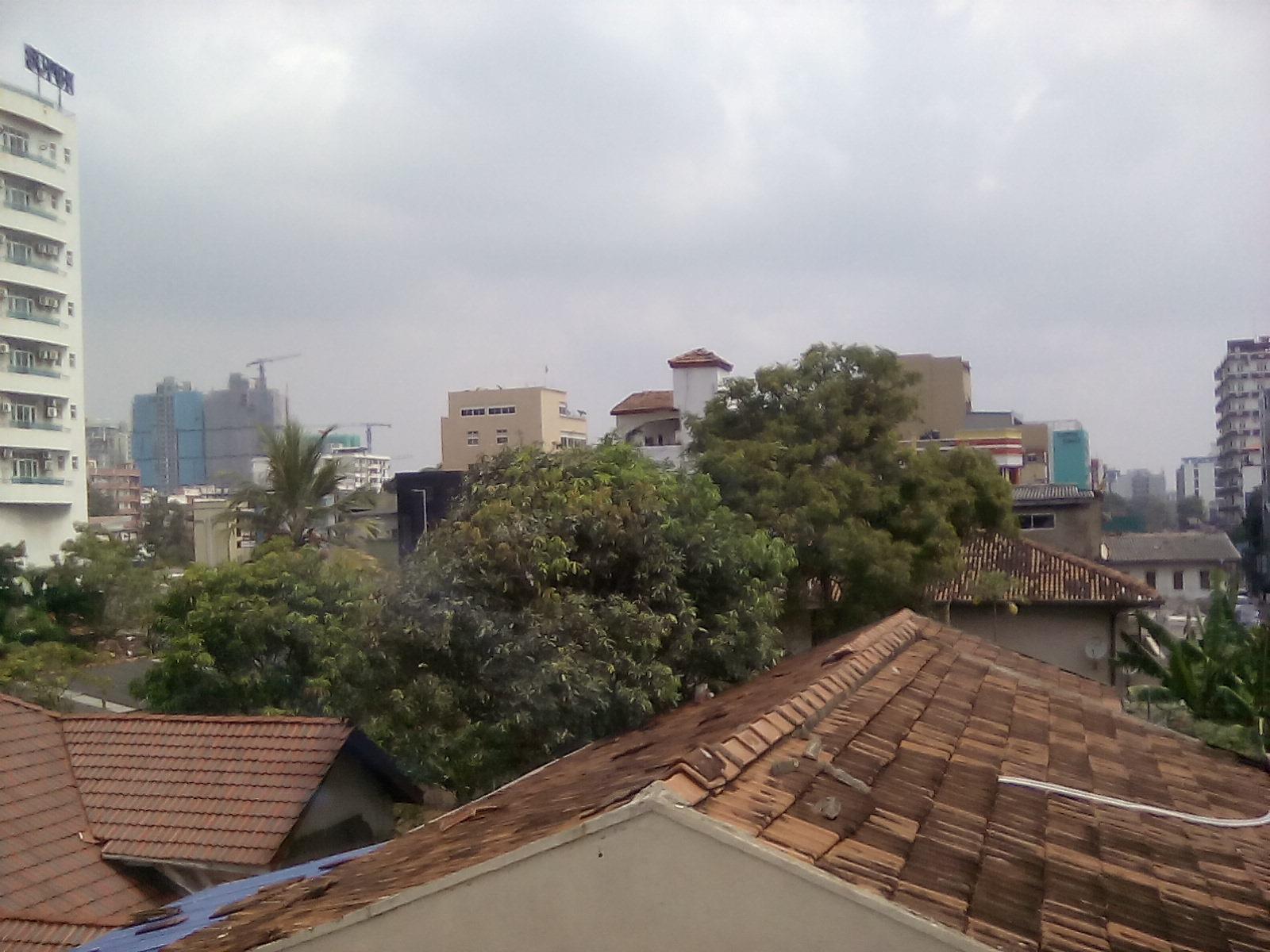 colombo vue des toits sri lanka