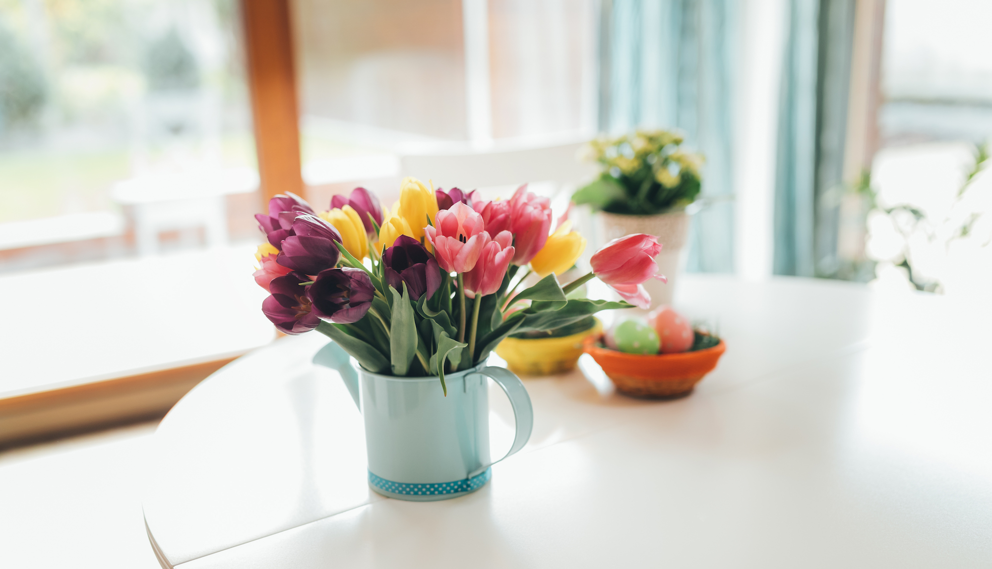 cuisine printemps decoration minimalisme