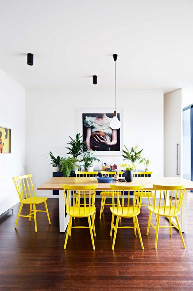 idee decoration salle a manger chaise deco