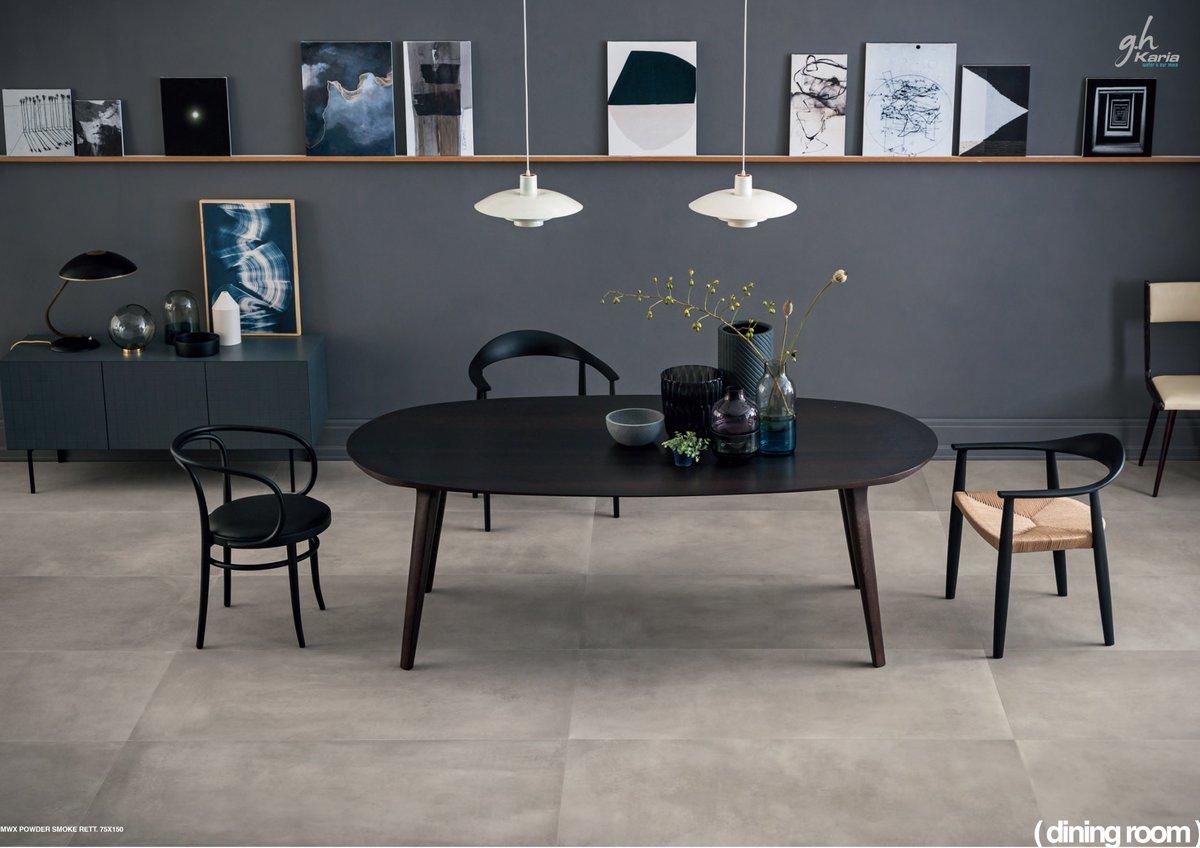 meuble salle a manger noir decoration
