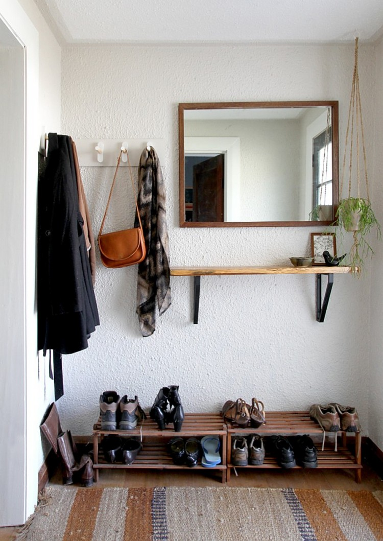 petite entree minimaliste simple familiale