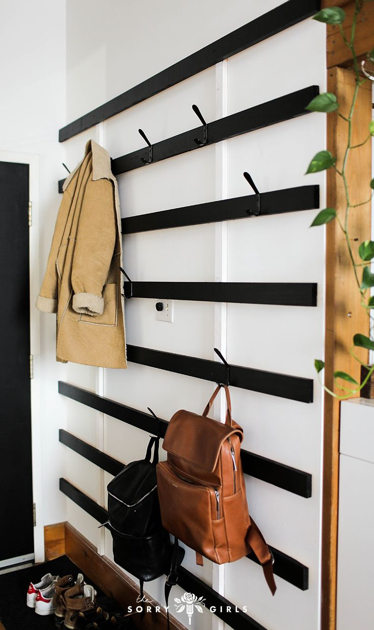 rangement original entree minimaliste