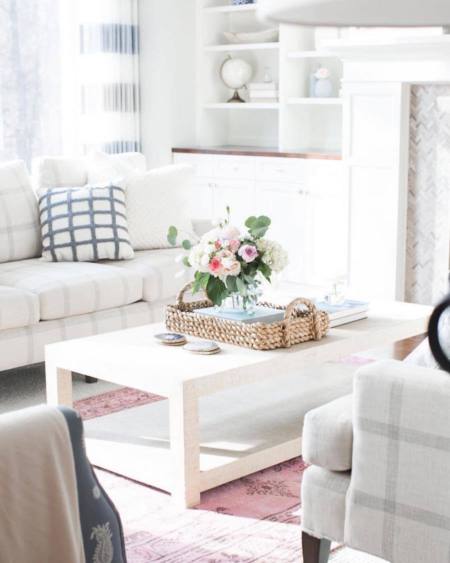 salon decoration minimaliste printemps