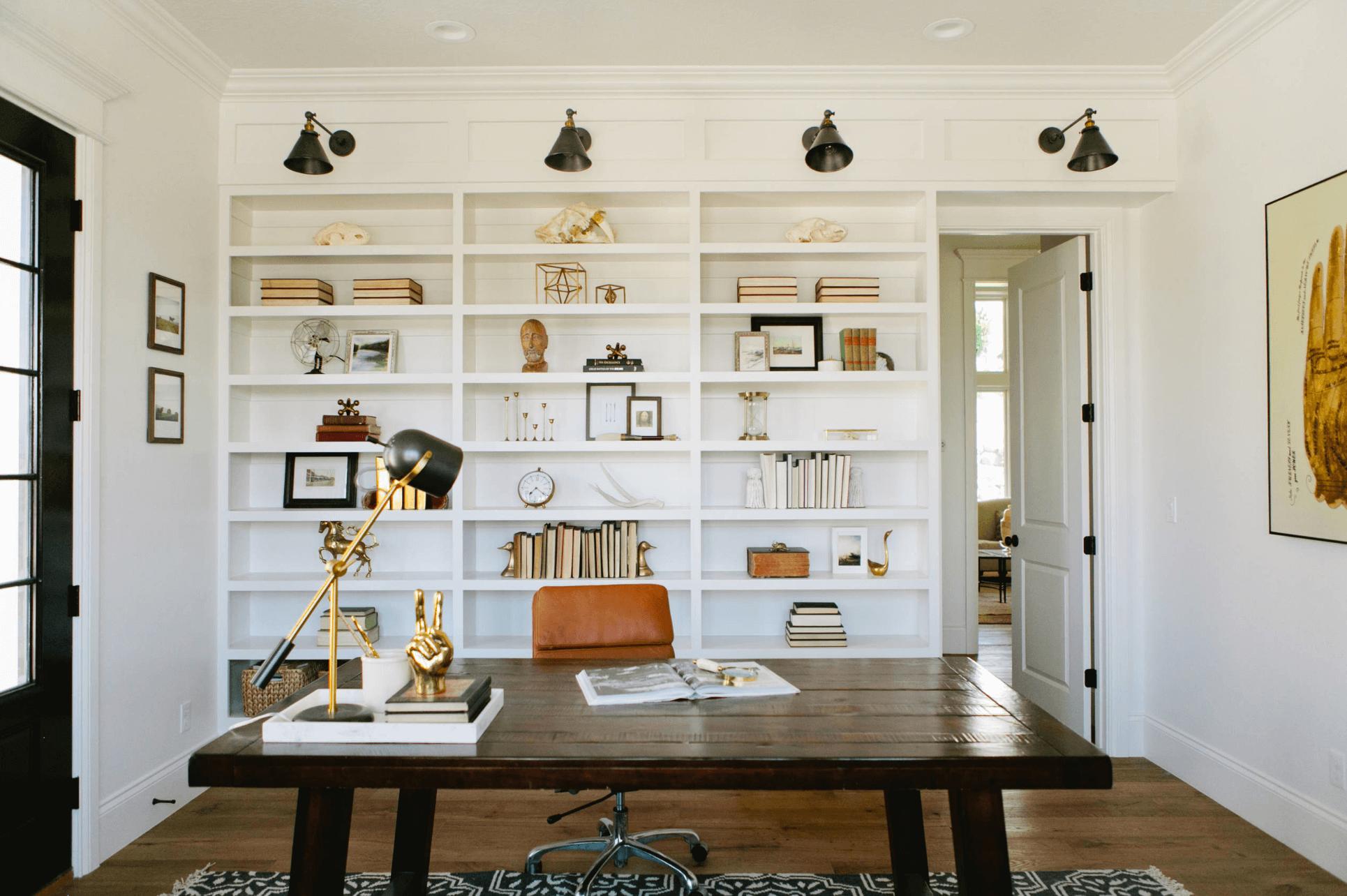bureau a la maison conseil minimaliste