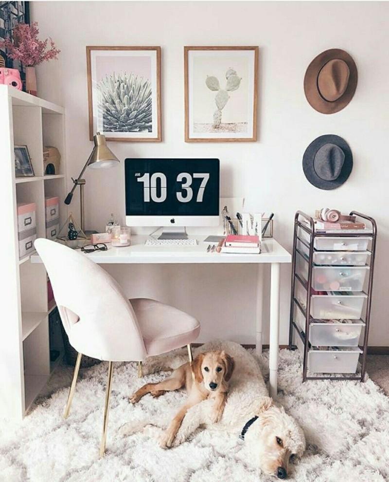 lampe de bureau idee decoration bureau maison