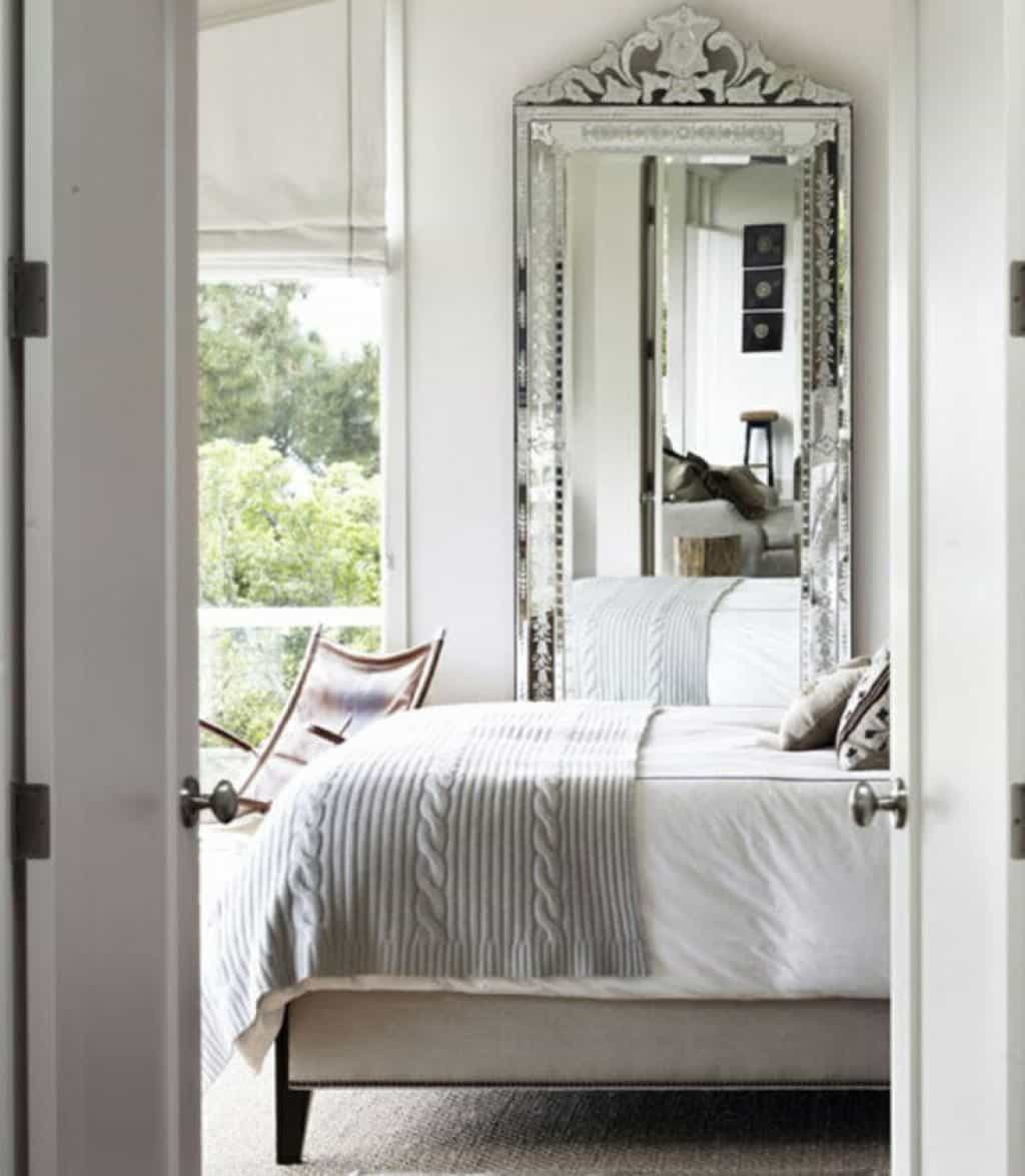 miroir agrandir piece idee decoration chambre