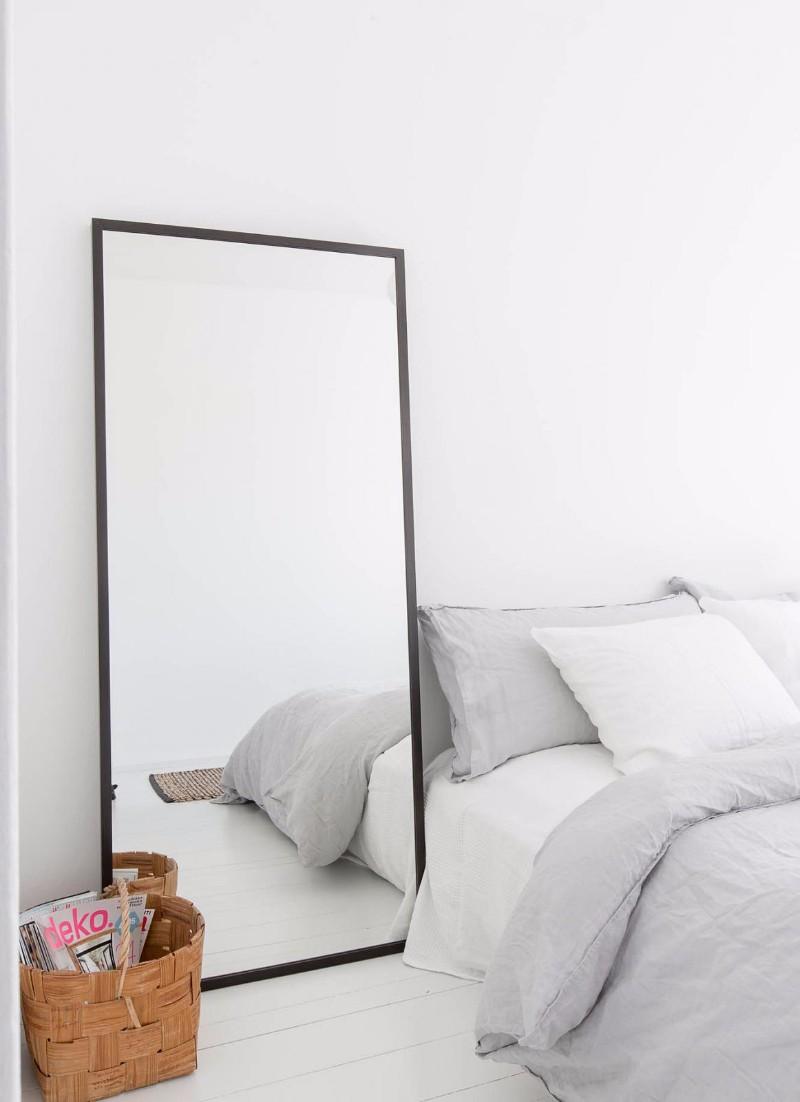 miroir chambre chevet