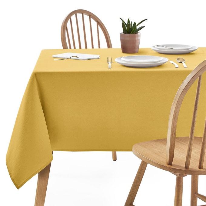 nappe cuisine jaune pas cher