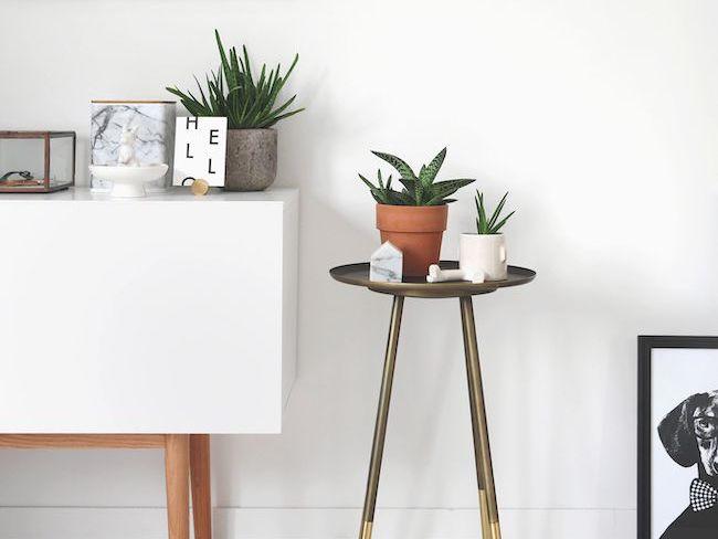 slow interieur petit meuble appoint minimaliste