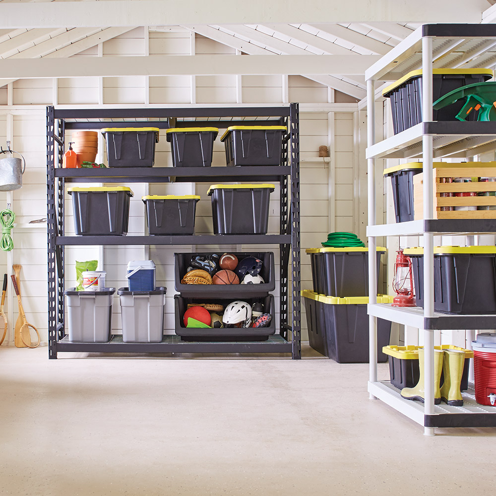 amenagement garage etagere metal