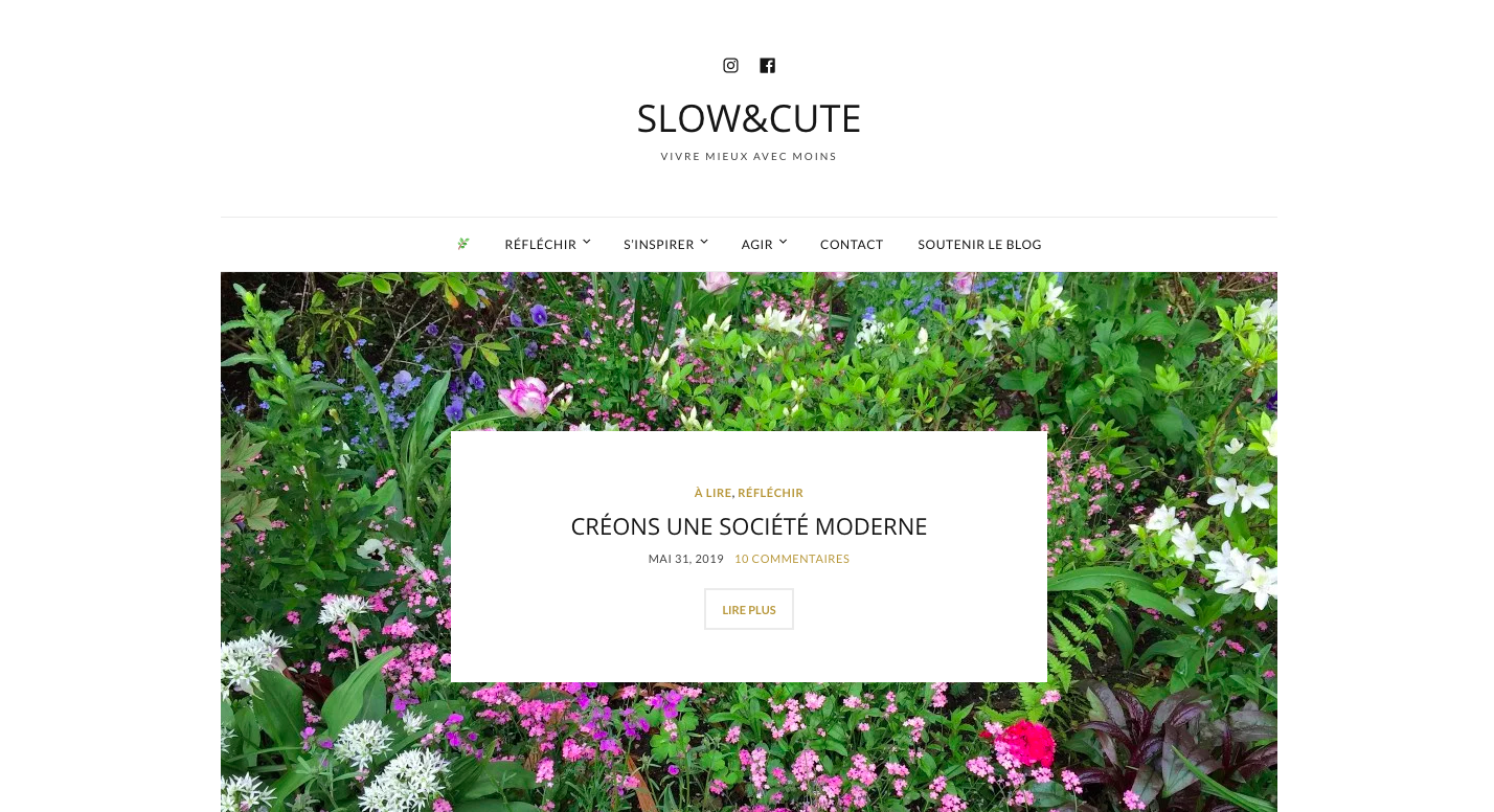 blog slow and cute idee reflexion moins mais mieux