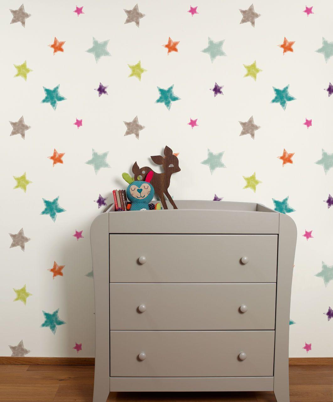 chambre bebe decoration neutre etoile