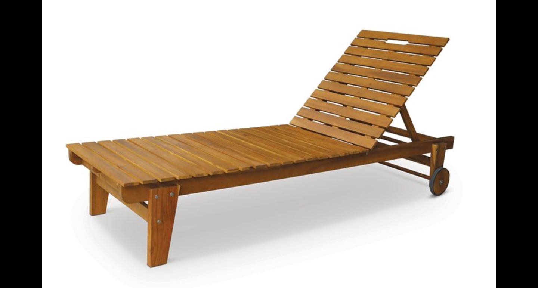 deco jardin bain de soleil lames en bois