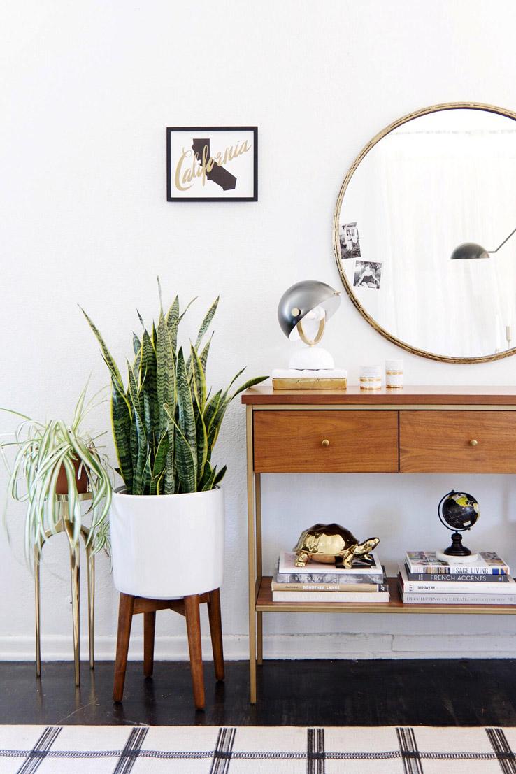 entrée ouverte mobilier et décoration