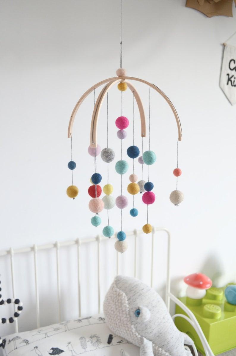mobile fait main decoration chambre enfant