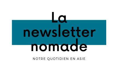 newsletter nomadisme asie