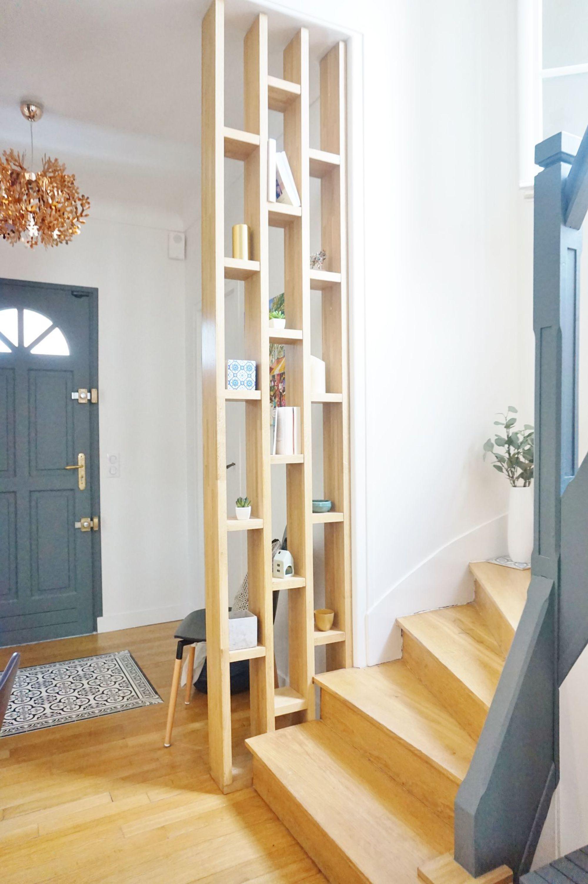petite claustra entree bois