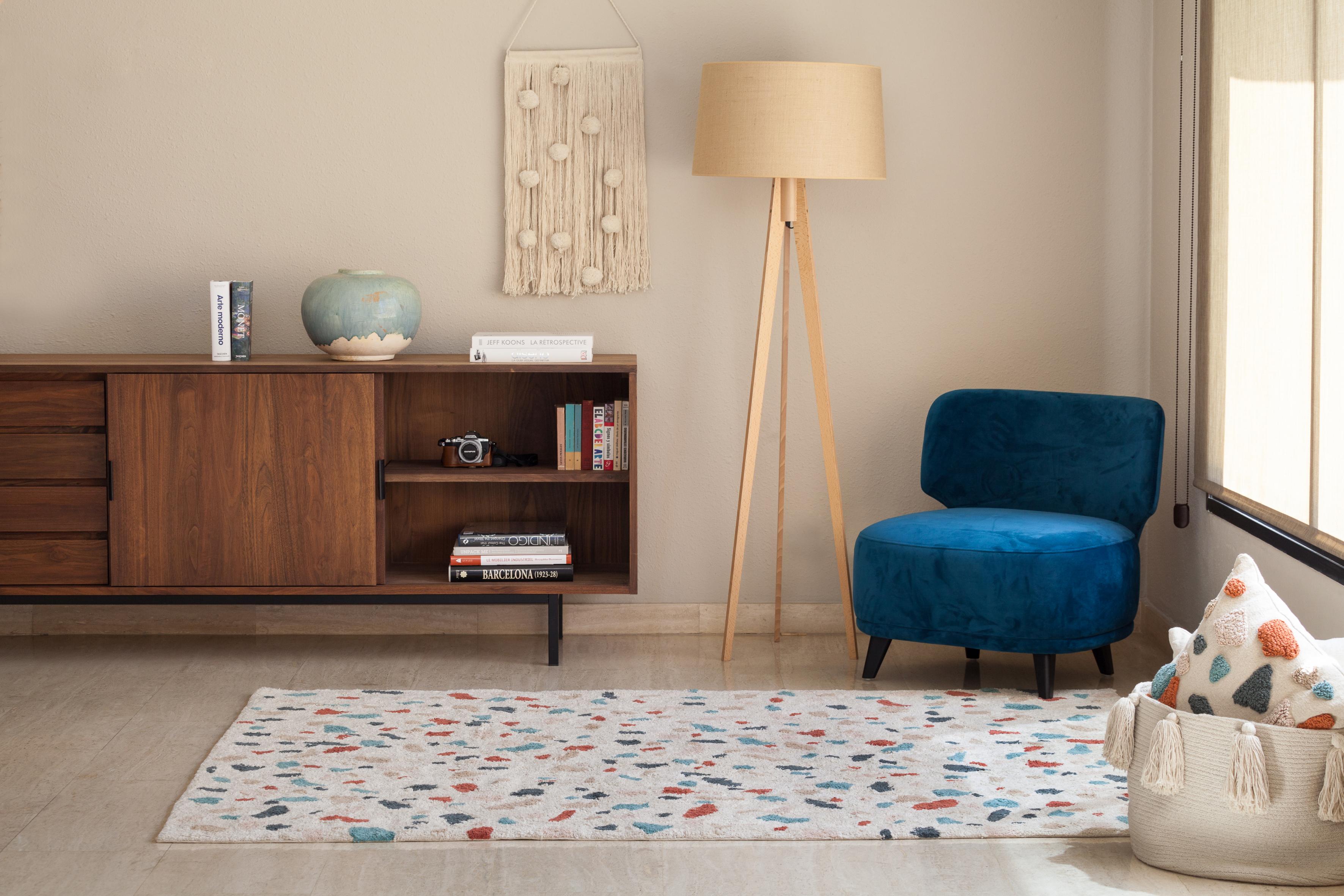 terrazzo motif tapis