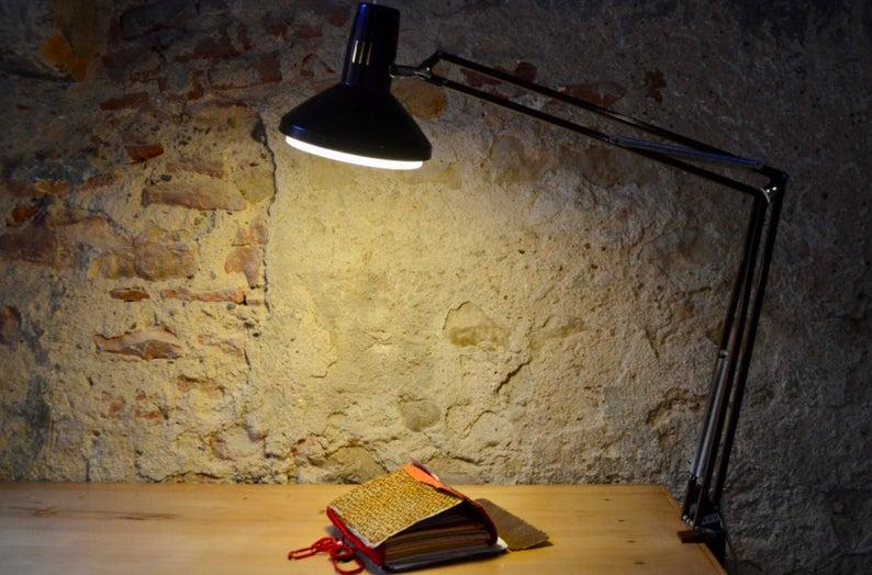 deco bureau lampe architecte vintage