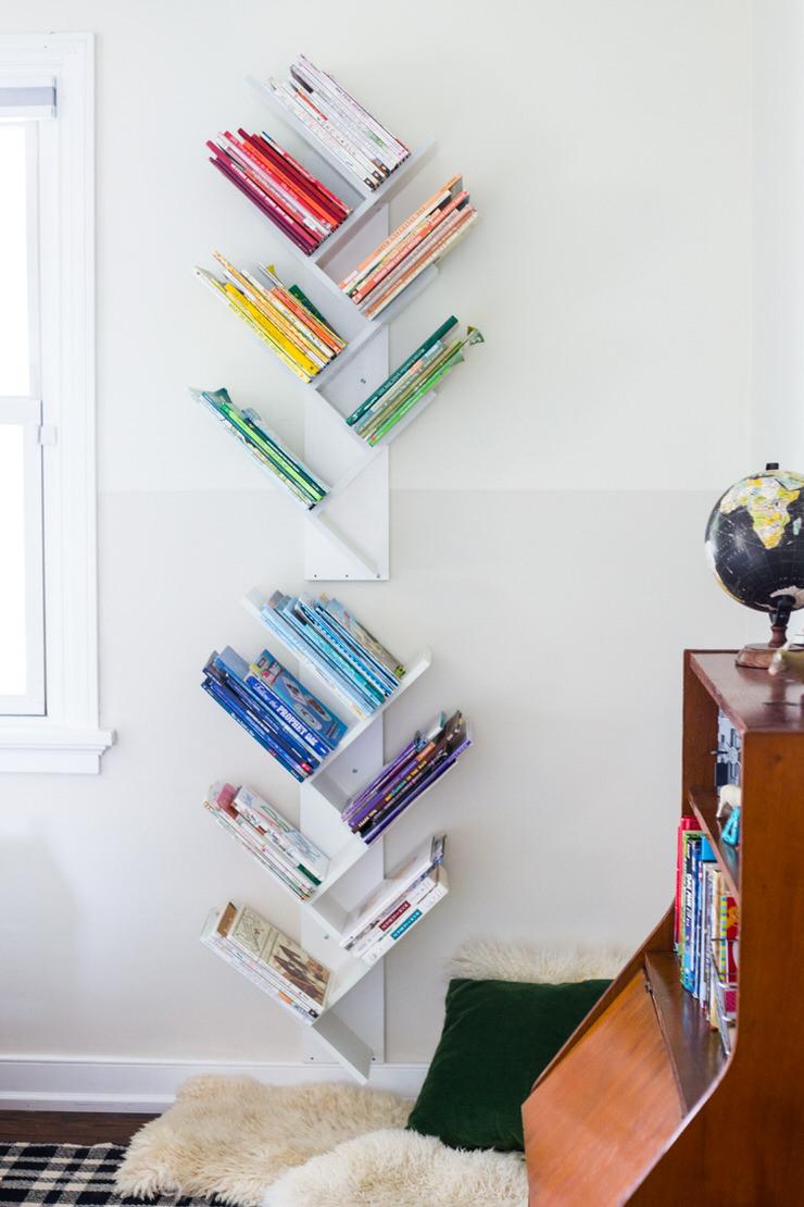 enfant rangement livres scolaires idee