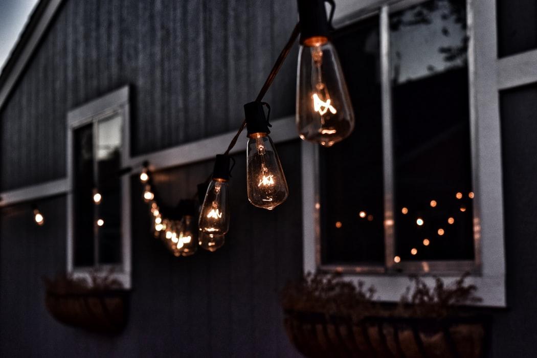 essentiel jardin luminaire guirlande