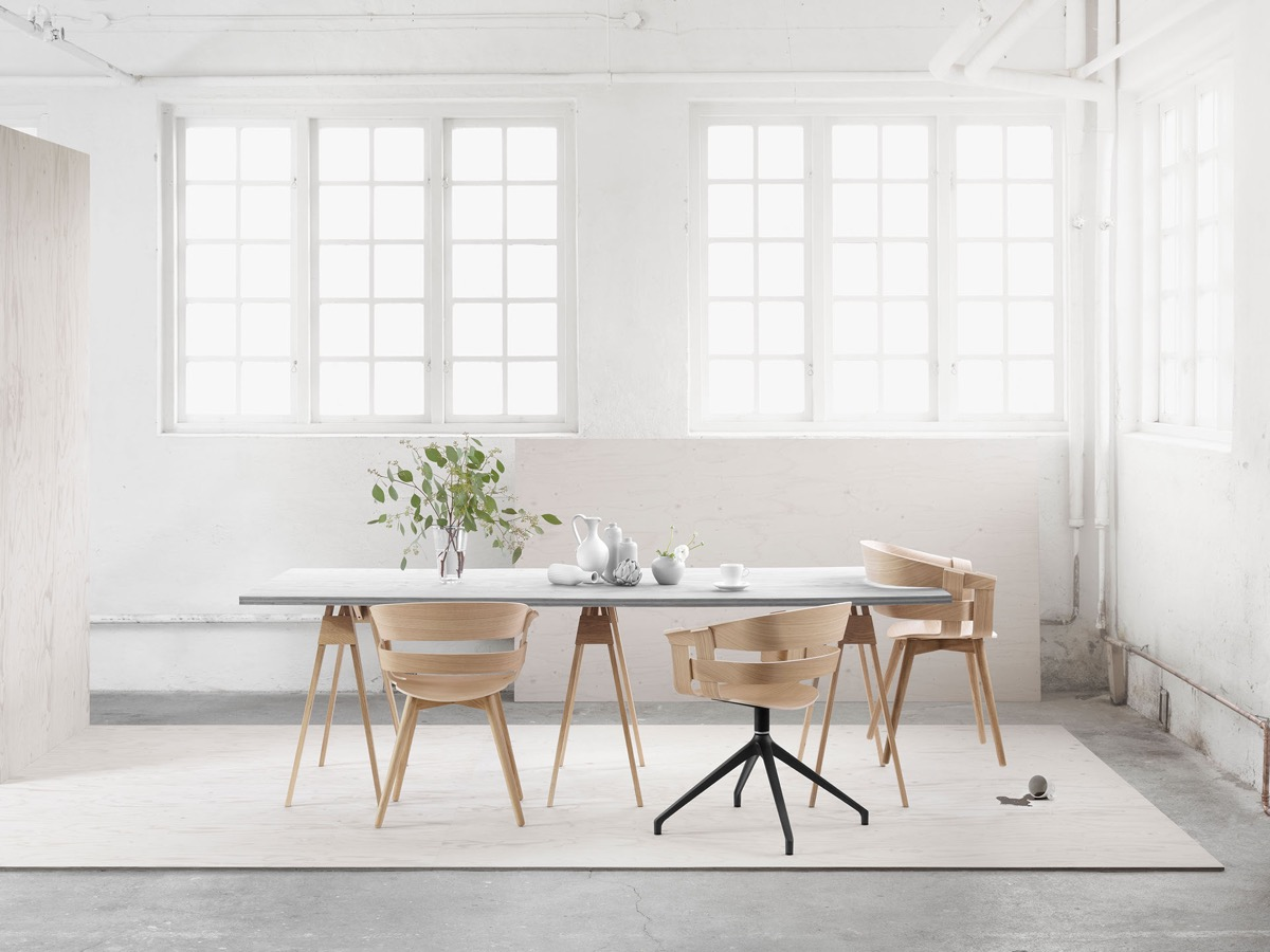 indispensable salle a manger minimaliste chaise