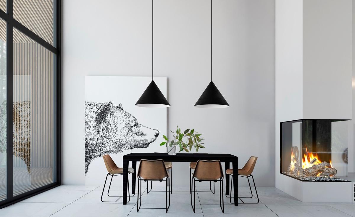 indispensable salle a manger minimaliste luminaire