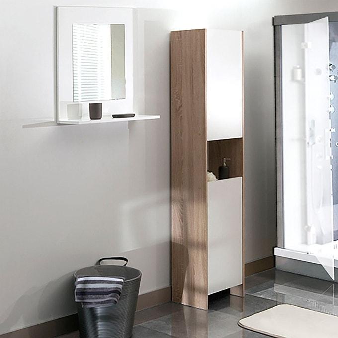 rangement appoint salle de bain colonne