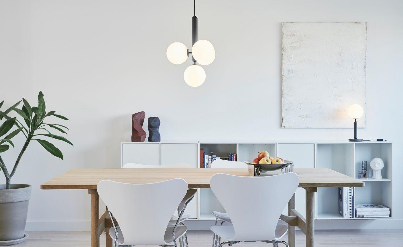 suspension salle a manger simple et minimaliste
