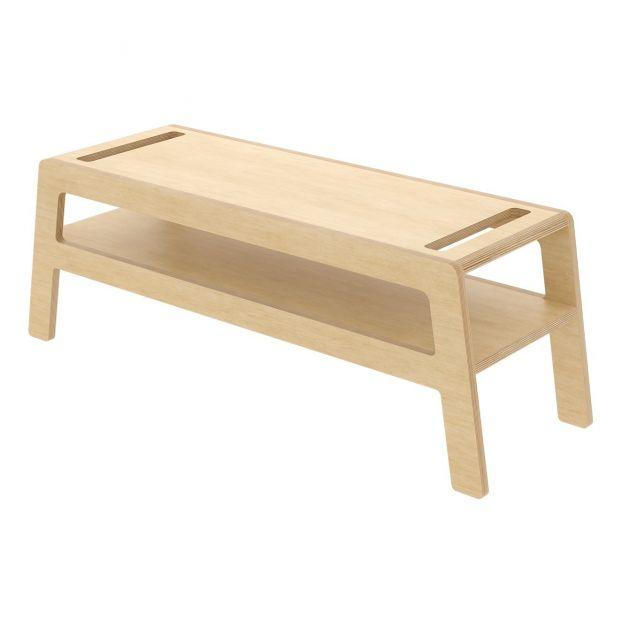 banc entree bois bouleau design