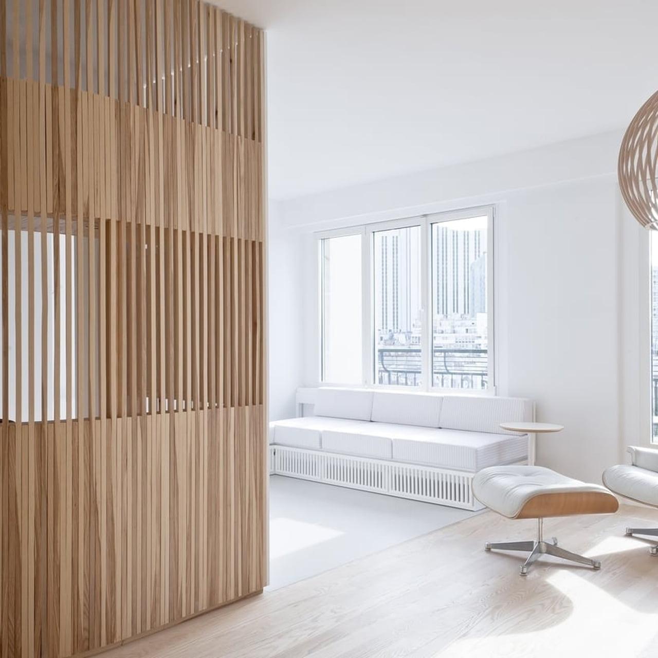 claustra decoration bois decoupe tendance minimaliste